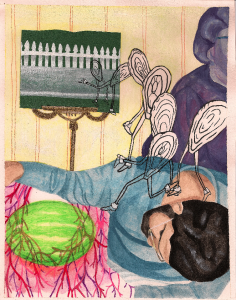 Illustration from 'House Stories' by Amelia Garretson-Persans